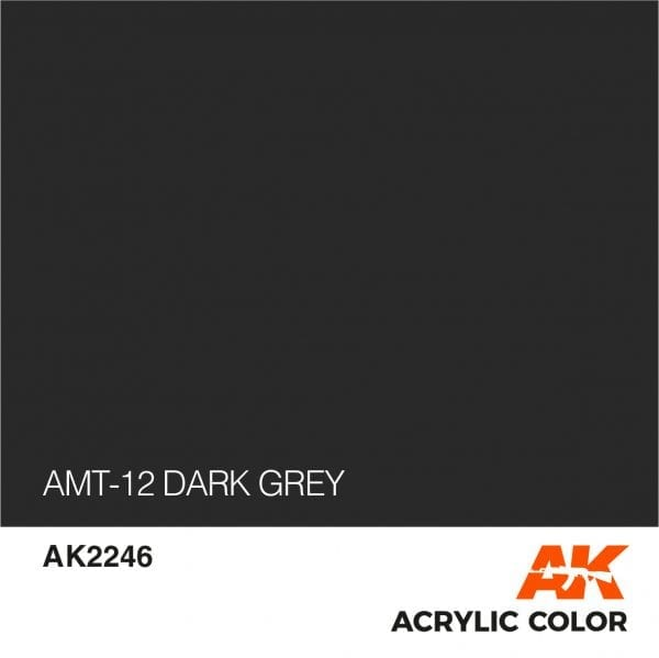 AK2246 AMT-12 DARK GREY