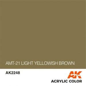 AK2248 AMT-21 LIGHT YELLOWISH BROWN