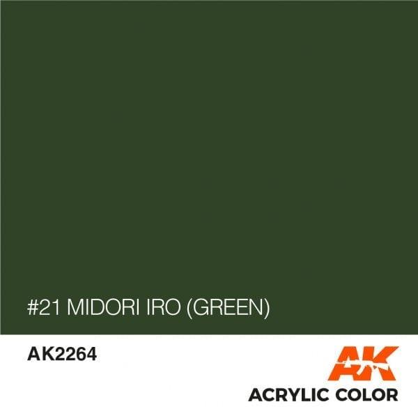 AK2264 #21 MIDORI IRO (GREEN)