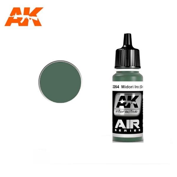 AK2264 acrylic paint air akinteractive modeling