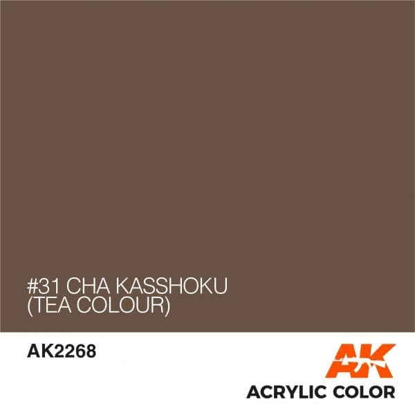 AK2268 #31 CHA KASSHOKU (TEA COLOUR)