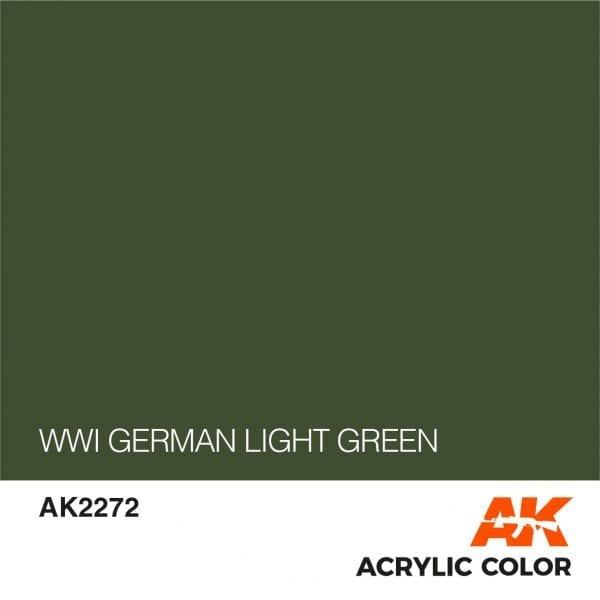 AK2272 WWI GERMAN LIGHT GREEN