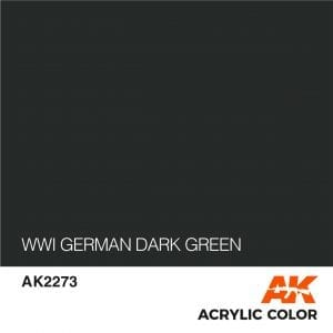 AK2273 WWI GERMAN DARK GREEN