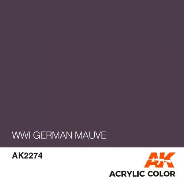 AK2274 WWI GERMAN MAUVE