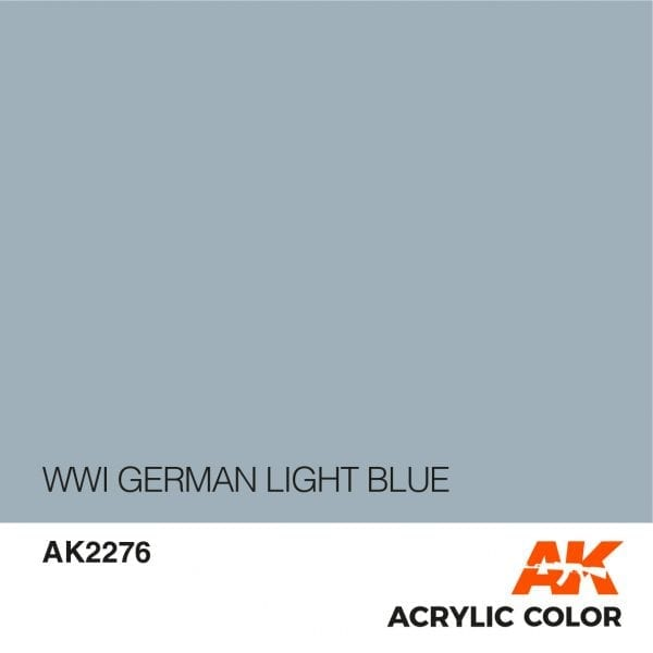 AK2276 WWI GERMAN LIGHT BLUE