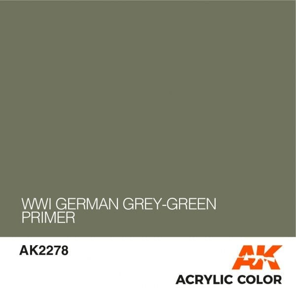 AK2278 WWI GERMAN GREY-GREEN PRIMER