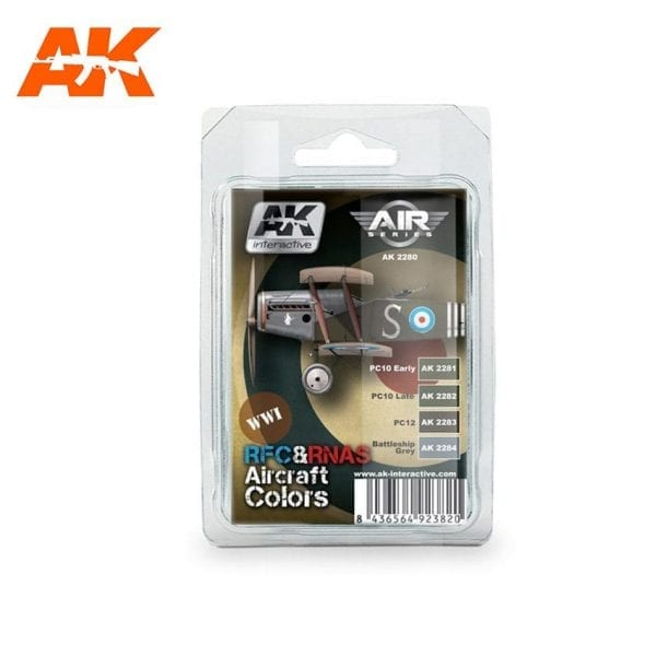 AK2280 acrylic paint set akinteractive modeling