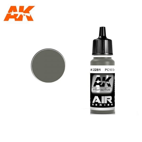 AK2281 acrylic paint air akinteractive modeling