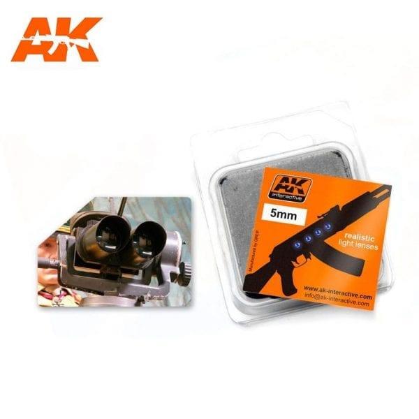AK228 model accesories lenses akinteractive