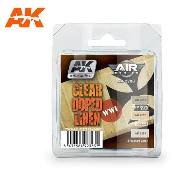 AK2290 acrylic paint set akinteractive modeling