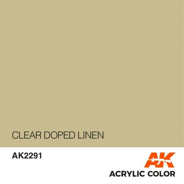 AK2291 CLEAR DOPED LINEN