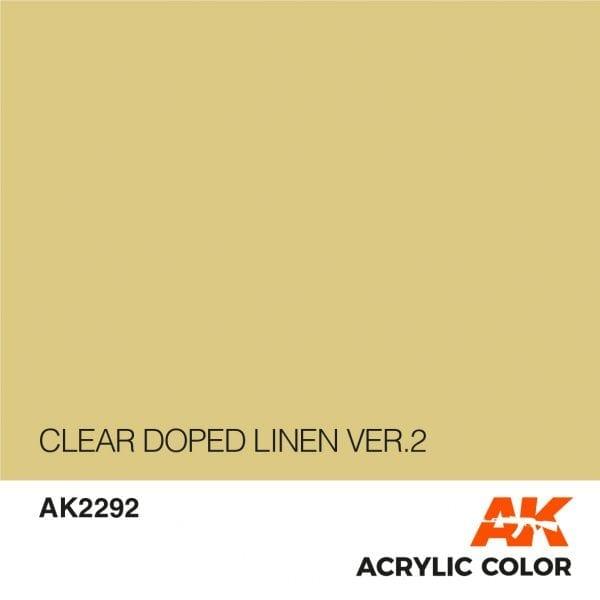 AK2292 CLEAR DOPED LINEN VER.2