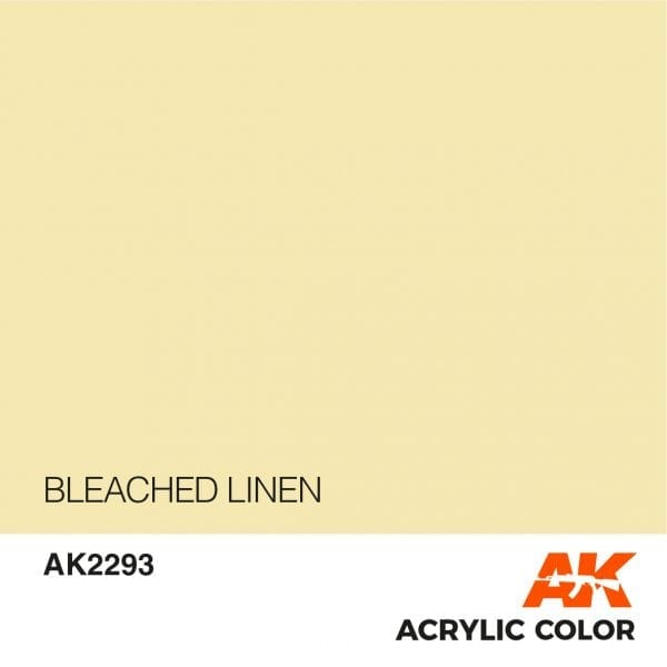 AK2293 BLEACHED LINEN