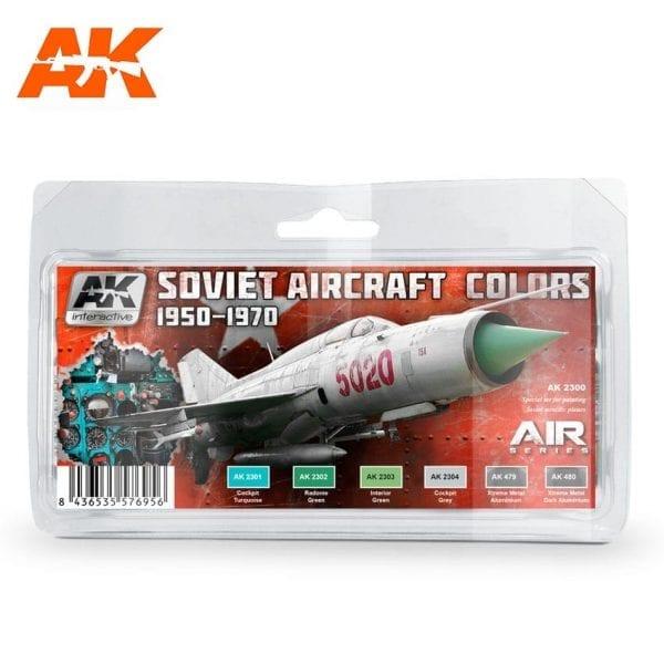 AK2300 acrylic paint set akinteractive modeling