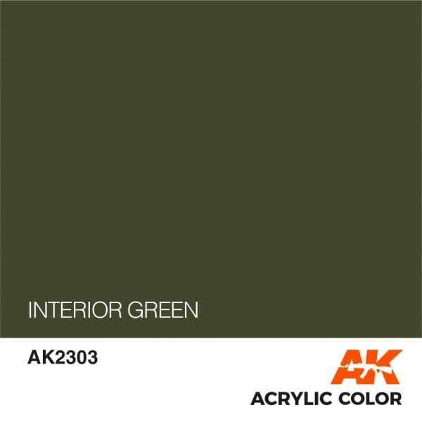 AK2303 INTERIOR GREEN