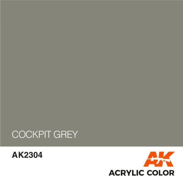 AK2304 COCKPIT GREY
