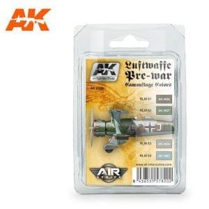AK2320 acrylic paint set akinteractive modeling