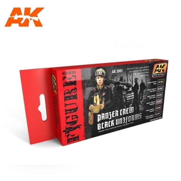 AK3001 acrylic paint set akinteractive modeling