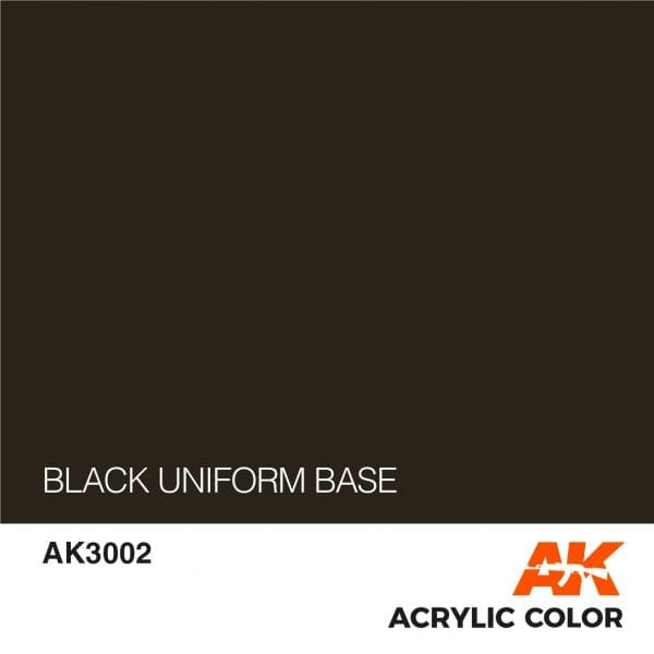 AK3002 BLACK UNIFORM BASE