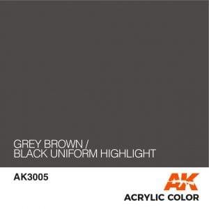 AK3005 GREY BROWN