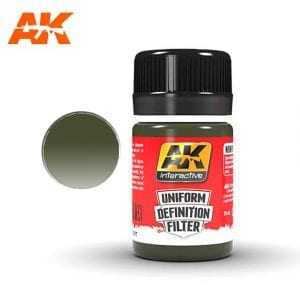 AK3017 akinteractive enamel 35 ml uniform definition filter single