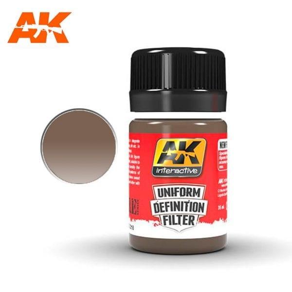 AK3018 akinteractive enamel 35 ml uniform definition filter single