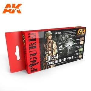 AK3020 acrylic paint set akinteractive modeling