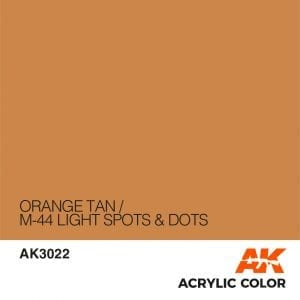 AK3022 ORANGE TAN
