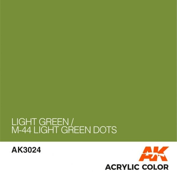 AK3024 LIGHT GREEN
