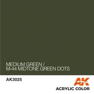 AK3025 MEDIUM GREEN