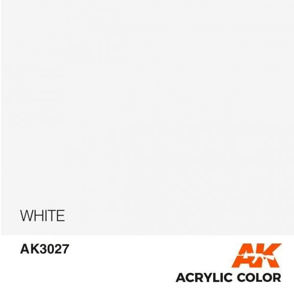 AK3027 WHITE