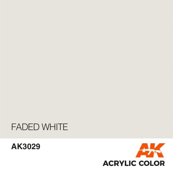 AK3029 FADED WHITE