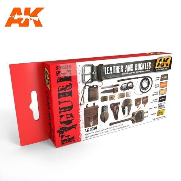 AK3030 acrylic paint set akinteractive modeling