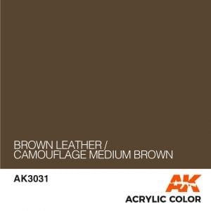 AK3031 BROWN LEATHER