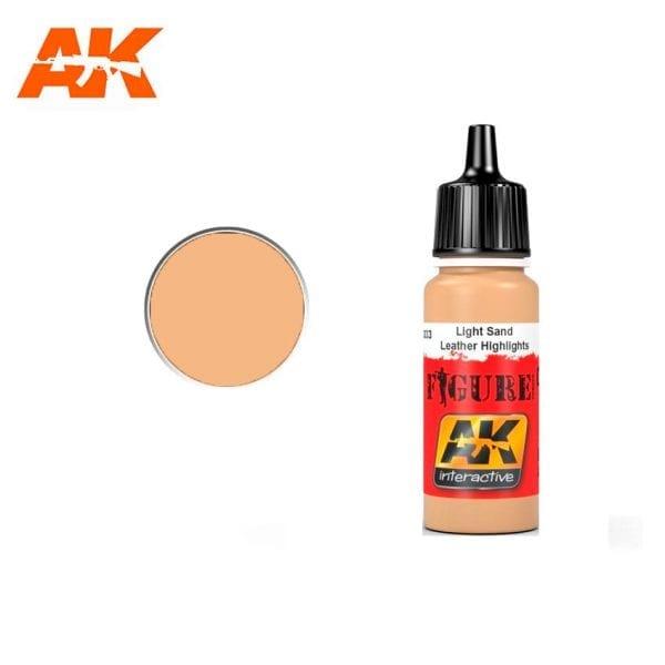 AK3033 acrylic paint figures akinteractive modeling