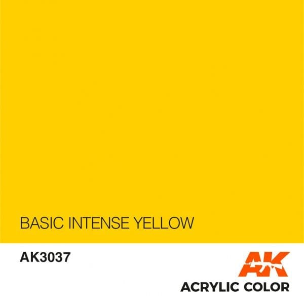 AK3037 BASIC INTENSE YELLOW