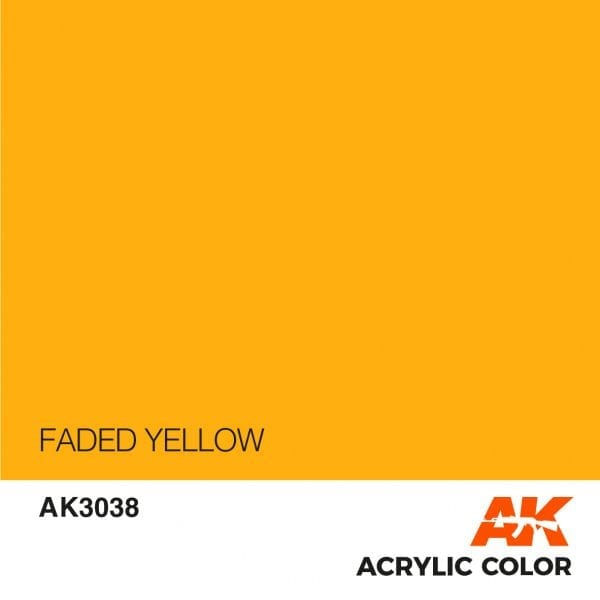 AK3038 FADED YELLOW