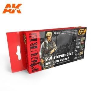 AK3040 acrylic paint set akinteractive modeling