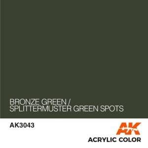AK3043 BRONZE GREEN