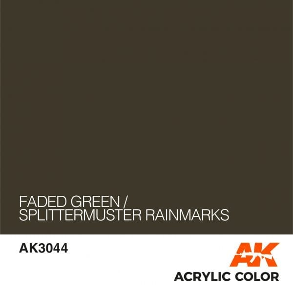 AK3044 FADED GREEN