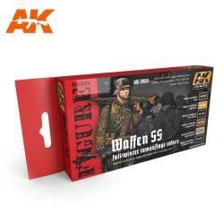AK3050 acrylic paint set akinteractive modeling