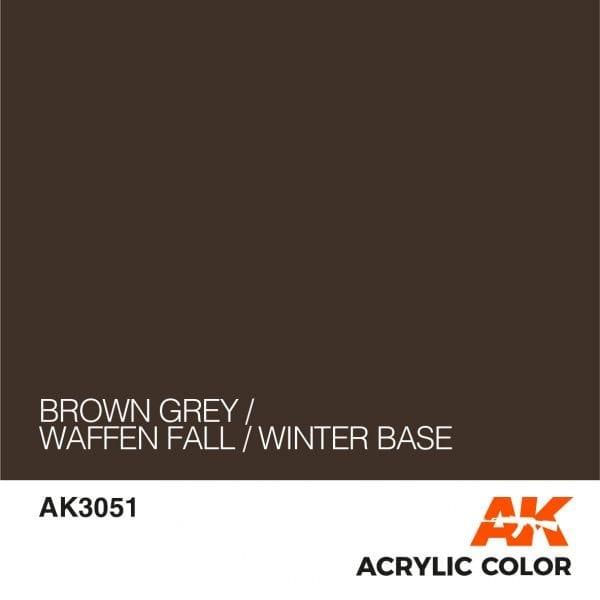 AK3051 BROWN GREY