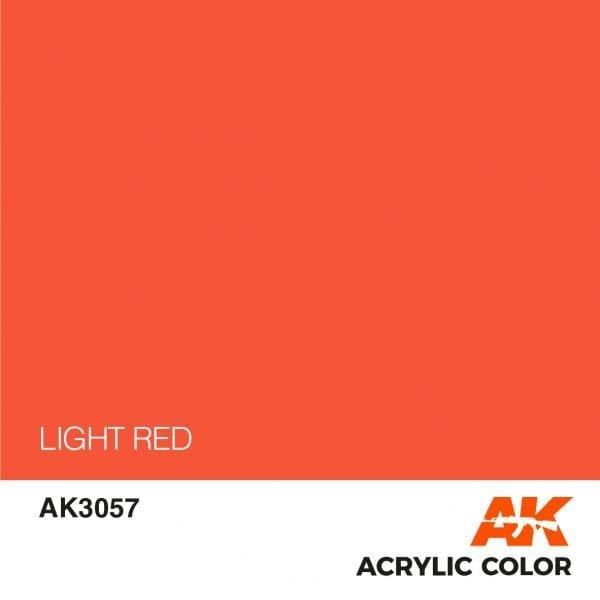 AK3057 LIGHT RED