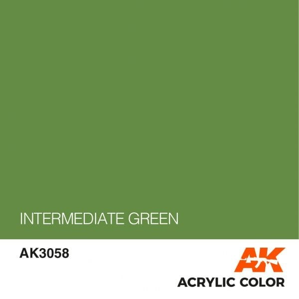 AK3058 INTERMEDIATE GREEN