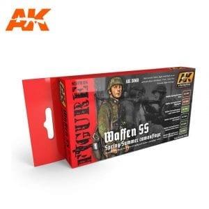 AK3060 acrylic paint set akinteractive modeling