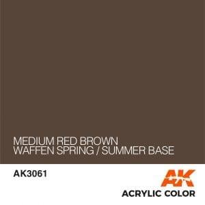 AK3061 MEDIUM RED BROWN