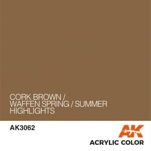 AK3062 CORK BROWN
