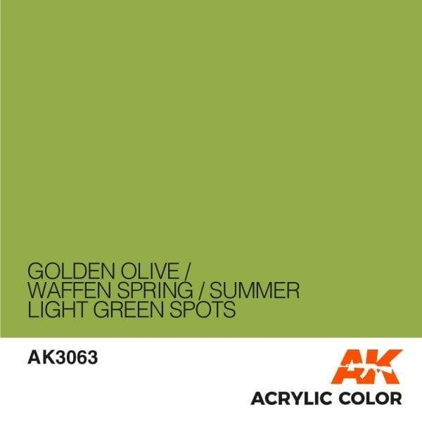 AK3063 GOLDEN OLIVE