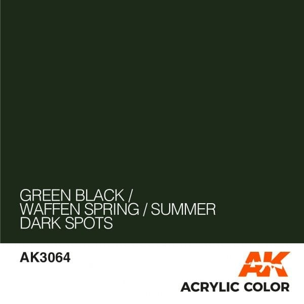AK3064 GREEN BLACK