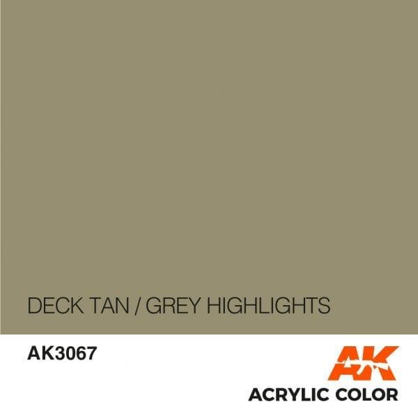 AK3067 DECK TAN-GREY HIGHLIGHTS